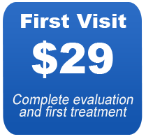 "alt=""express chiropractic keller first visit $29 - complete evaluation and first treatment"""
