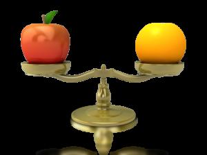 """alt=""""apples to oranges"""""""